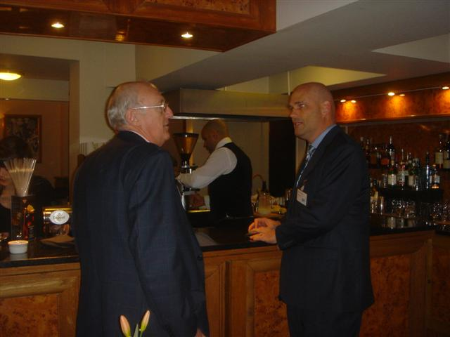 David Wyatt (The Lime Leaf Thai Restaurant) & David Deakin (CEO ofZee2A)
